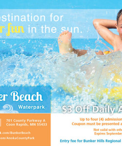 Bunker Beach Water Park Coupon 2014